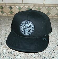 NWT IRON FIST Black Skull ROYAL HOUSE The Immortals Adjustable Ball Cap HAT