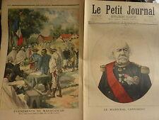 PETIT JOURNAL- 1895 - N° 221 - Mort du Général CANROBERT / ile de LA REUNION