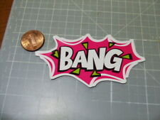 BANG GLOSSY Sticker/ Decal Bumper Laptop phone Stickers NEW