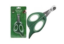Nail Claw Clippers Crufts Soft Grip  small large cat dog bird pet SS Blade 3389