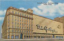 Dallas Texas Art Deco Titche-Goettinger~Dillards Department Store~1955 Postcard
