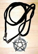 Pentacle-Pentagram Necklace, Pagan, Wicca, Witchcraft, Magic