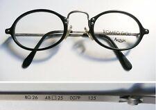 Romeo Gigli RG 26 nero montatura per occhiali vintage frame 1990s