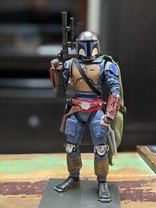"Star Wars Black Series 1313 Boba Fett Custom John Walker Customs 6"" Bandai Model"