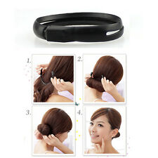 Multifunctional Hair Styler Bun Ponytail Twist Ring Maker New FO