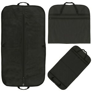 Suit Cover Garment Carrier Travel Bags - Showerproof Breathable Shoe Pocket NEW