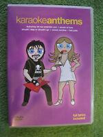 DVD Video Karaoke: Anthems von The New World Orchestra I Will Survive
