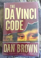 The Da Vinci Code by Dan Brown (2003, US) Rare 1st Edition,1st Printing Signed!