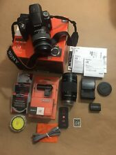 Sony Alpha SLT-A33 14.2MP Digital SLR Camera Bundle [Camera Body not working]
