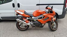 HONDA VTR1000 Firestorm Stainless round Road Legal Motorbike Exhaust Can