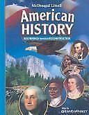 McDougal Littell Middle School American History: Student Edition Beginnings thr