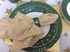 ONE Napkin Ring Galaxy Green Gold Star Sakura Holiday Celebration