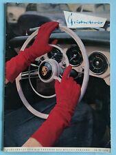 PORSCHE Lifestyle Magazin Zeitschrift Christophorus Nr.23/1956 Freunde d. Hauses