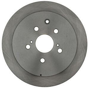 Disc Brake Rotor-Non-Coated Rear ACDelco Advantage 18A2943A