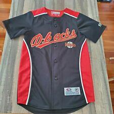 True Fan Mlb Arizona Diamondbacks Embroidered Baseball Jersey Size Youth Small