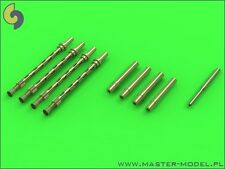 20mm HISPANO, .303 BROWNING BARRELS & PITOT TO MOSQUITO MK.II/FB.VI 1/72 MASTER