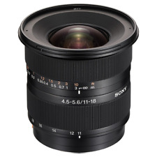 A - Sony 11-18mm f4.5-5.6 DT AF Digital SLR Camera Lens