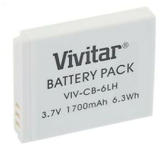 Vivitar NB-6L Replacement Battery for Select Canon Cameras