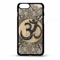 Namaste symbol floral oriental yoga pattern pretty graphic art phone case cover