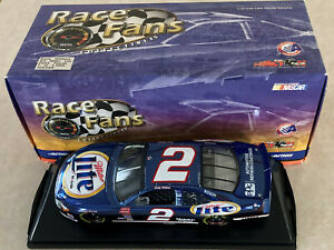 1/24 Color Chrome Rusty Wallace Miller Lite Car #2 Ford Taurus Action Diecast