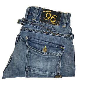 G-Star Raw Elwood Heritage Loose Mens Blue Jeans Size W33 L32