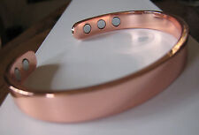 The Original Copper Magnetic Bracelet Arthritis Energy Men Women Cuff NEW
