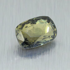 Unheated Certified Green Sapphire 2.17 Ct. Will look Amazing a Ring!
