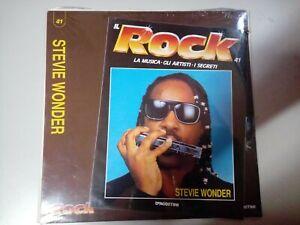 Disco Vinile 33 Giri DeAgostini Il Rock N°41 Stevie Wonder