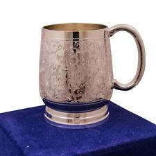 Marusthali Royal Look Silver Plated Beer Mug Ethnic Home Decor Fine Dining