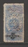 Nicaragua tax revenue fiscal collection stamp 12-7-