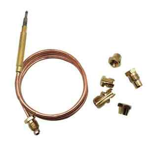 UNIVERSAL THERMOCOUPLE 600MM LONG WITH M6 THREADED END - FREE POSTAGE