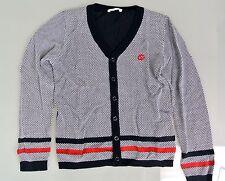 New Authentic Gucci Long Sleeve Sweater Cardigan w/Interlocking G, 10, 281222