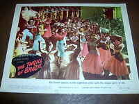 The Thrill of Brazil Lobby Card  Original 1946  numbered