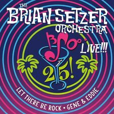 "BRIAN SETZER ORCHESTRA 25 Live 12"" COLORED VINYL EP NEW SEALED BLACK FRIDAY RSD"