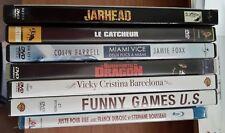 LOT de 6 DVD divers (+1 blu-ray NEUF!) JARHEAD, THE WRESTLER, MIAMI VICE, ...