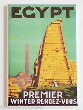 Egypt Travel Fridge Magnet (2 x 3 inches) poster