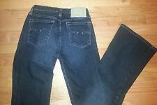 G - Star Raw Jeans Women Low Hip Flare Made in Italy Black Sz 26 x 29 $160