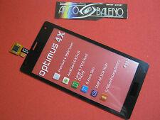 VETRO + TOUCH SCREEN per LG OPTIMUS 4X HD P880 NERO VETRINO X DISPLAY LCD