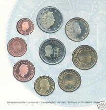 LUSSEMBURGO offiz. euro-kms 2004 Bu con due monete