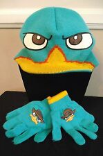 Phineas & Ferb Perry Beanie Hat & Gloves Set