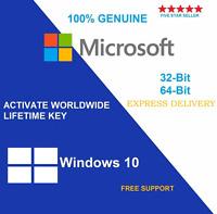 Microsoft Windows 10 Home 32 & 64 Bit License Key & Download Link - Scrap PC