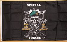 Special Forces Military Flag 3' x 5' Classic Silk Screened Indoor Outdoor Banner