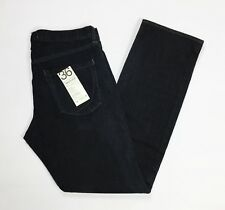 Paperdenim & cloth jeans super low straight uomo nuovo 32291 w38 tg ita 52 T3868