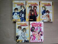 Satisfaction Guaranteed 1-3, 5, Lot of 5 Shojo Manga, English, 16+, Ryo Saenagi