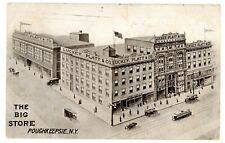 Poughkeepsie NY -LUCKEY PLATT & CO DEPARTMENT STORE-BIG STORE- Postcard