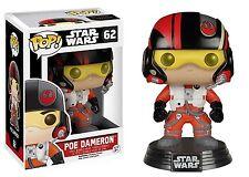 Star Wars The Force Awakens Funko POP Vinyl Figure #62 Poe Dameron