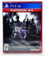 Resident Evil 6 Playstation Hits - PS4 - Brand New | Factory Sealed