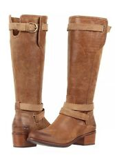 UGG Australia DARCIE Leather Tall Riding Buckled Boots 1004172 Size 6 Chestnut