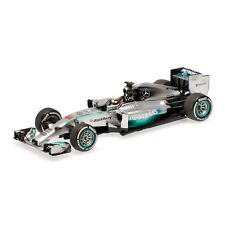 Minichamps 1:43 2014 Mercedes W05 Lewis Hamilton Bahrain GP Winner - 410140244