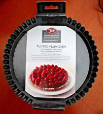 Tala Performance Tart Tin - 20cm x 3.5cm Bakeware Dia Fluted Flan Dish